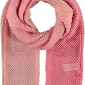 Fraas Dámský obdélníkový plisovaný šátek 625490 - růžová