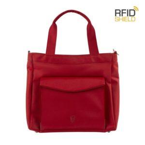 Heys Dámská kabelka na notebook 13'' HiLite RFID Red