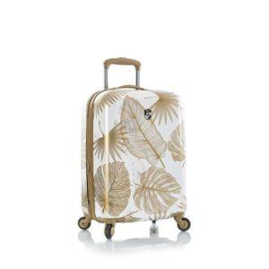 Heys Kabinový cestovní kufr Oasis S White/Gold Leaf 52 l