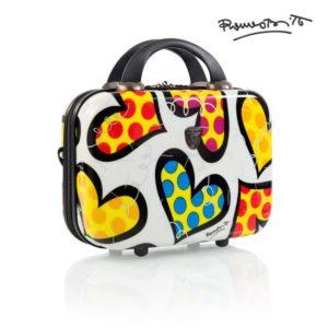Heys Kosmetický kufřík Britto Beauty Case Hearts Carnival