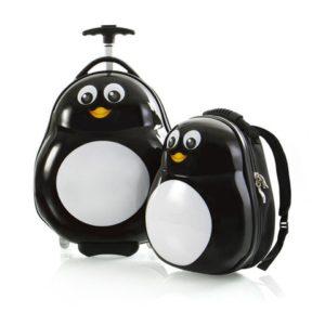 Heys Sada batohu a kabinového kufru Travel Tots Lightweight Kids Penguin