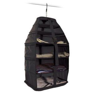 Heys Skládací textilní poličky do kufru JetPack Black