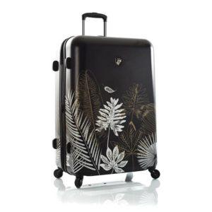 Heys Skořepinový cestovní kufr Oasis L Black/Gold Leaf 132 l