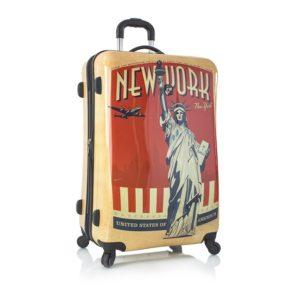 Heys Skořepinový cestovní kufr Vintage Traveler L New York 105 l
