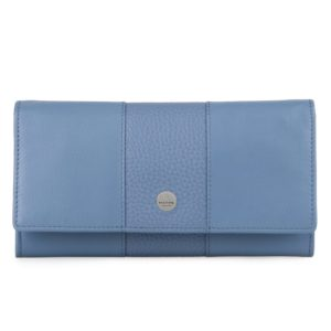 Maître Dámská kožená peněženka Auen Diedburg 4060001601 - světle modrá