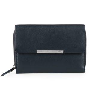 Maître Dámská kožená peněženka Belg Dagrete 4060001619 - tmavě modrá