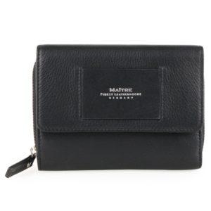 Maître Dámská kožená peněženka Ellern Diethilde 4060001606 - černá