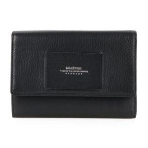 Maître Dámská kožená peněženka Ellern Doris 4060001608 - černá