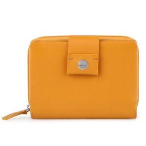 Maître Dámská kožená peněženka Henau Diethilde 4060001632 - tmavě žlutá