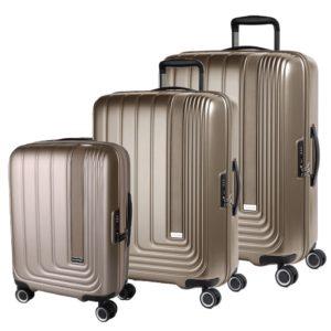 March Sada cestovních kufrů Beau Monde S + M + L