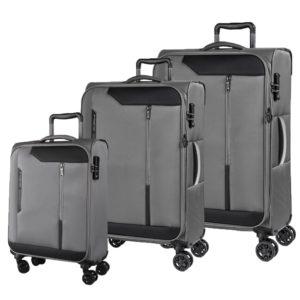 March Sada cestovních kufrů Stardust S + M + L