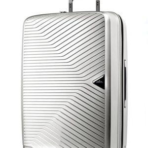 March Skořepinový cestovní kufr Gotthard 70 l - stříbrná