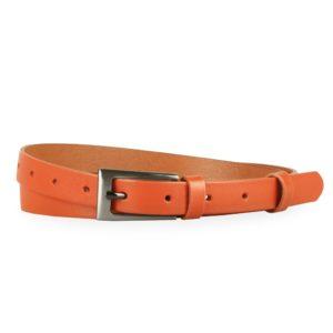 Penny Belts Dámský úzký kožený opasek 180-94 - 90