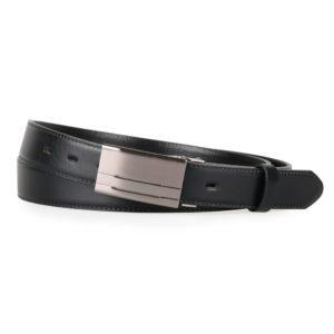 Penny Belts Pánský kožený nadměrný opasek 30-020-1PS černý - 120