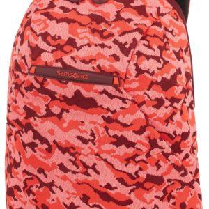 Samsonite Batoh na notebook 14'' Neoknit S 16 l - světle červená