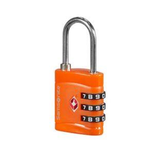 Samsonite Bezpečnostní TSA zámek - oranžová