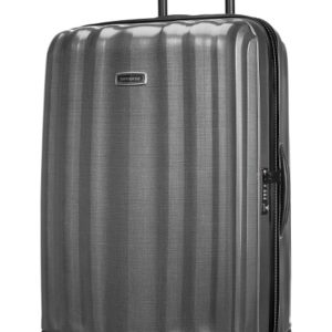 Samsonite Cestovní kufr Lite-Cube DLX Spinner 96 l - šedá