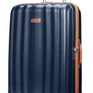 Samsonite Cestovní kufr Lite-Cube DLX Spinner 82V 96 l - modrá