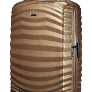 Samsonite Cestovní kufr Lite-Shock Spinner 124 l - hnědá