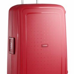Samsonite Cestovní kufr S'Cure Spinner 10U 102 l - červená