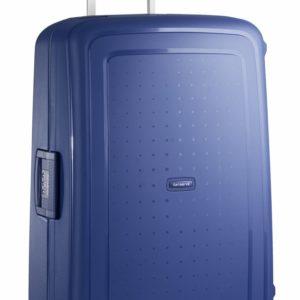 Samsonite Cestovní kufr S'Cure Spinner 10U 102 l - modrá