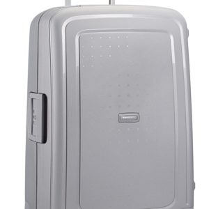 Samsonite Cestovní kufr S'Cure Spinner 10U 102 l - stříbrná
