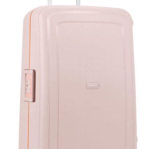 Samsonite Cestovní kufr S'Cure Spinner 102 l - světe růžová