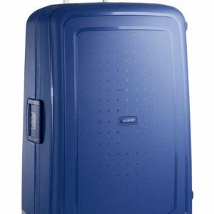 Samsonite Cestovní kufr S'Cure Spinner  138 l - modrá