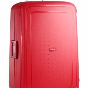 Samsonite Cestovní kufr S'Cure Spinner 10U 138 l - červená