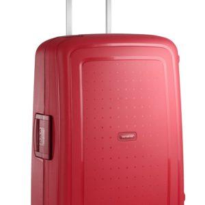 Samsonite Cestovní kufr S'Cure Spinner 10U 70 l - červená