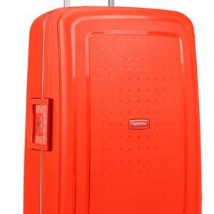 Samsonite Cestovní kufr S'Cure Spinner 10U 70 l - oranžová