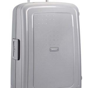 Samsonite Cestovní kufr S'Cure Spinner 10U 70 l - stříbrná