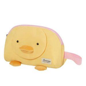 Samsonite Cestovní toaletní taštička Happy Sammies Eco Duck Dodie - žlutá