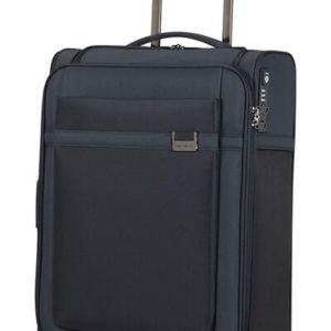Samsonite Kabinový cestovní kufr Airea Upright 55 cm 41/46 l - tmavě modrá
