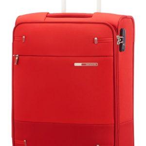 Samsonite Kabinový cestovní kufr Base Boost Upright 55/20 40cm - červená