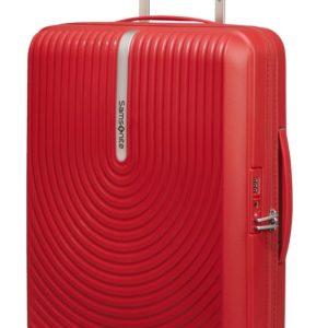 Samsonite Kabinový cestovní kufr Hi-Fi Spinner EXP 39/45 l - červená