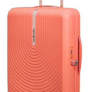 Samsonite Kabinový cestovní kufr Hi-Fi Spinner EXP 39/45 l - korálová
