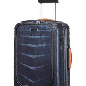 Samsonite Kabinový cestovní kufr Lite-Biz Spinner 37 l - modrá