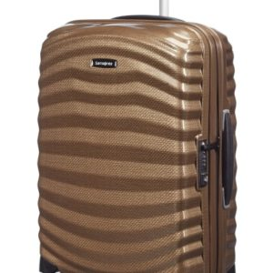 Samsonite Kabinový cestovní kufr Lite-Shock Spinner 98V 36 l - hnědá
