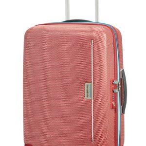 Samsonite Kabinový cestovní kufr Mixmesh Spinner CH6 37 l - červená