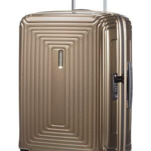 Samsonite Kabinový cestovní kufr Neopulse Spinner 44D 38 l - hnědá