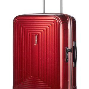 Samsonite Kabinový cestovní kufr Neopulse Spinner 44D 44 l - červená