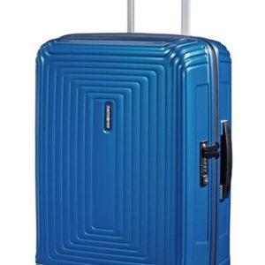 Samsonite Kabinový cestovní kufr Neopulse Spinner 44D 44 l - lesklá modrá