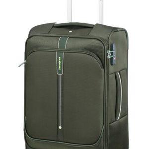 Samsonite Kabinový cestovní kufr Popsoda 55 cm 35 l - tmavě zelená