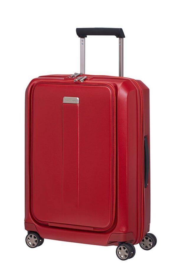 Samsonite Kabinový cestovní kufr Prodigy Spinner S 40 l - červená