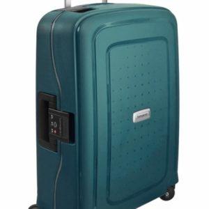 Samsonite Kabinový cestovní kufr S'Cure DLX Spinner U44 34 l - zelená