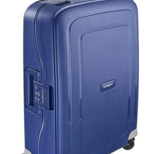 Samsonite Kabinový cestovní kufr S'Cure Spinner 10U 34 l - modrá