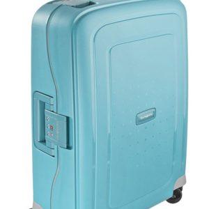 Samsonite Kabinový cestovní kufr S'Cure Spinner 34 l - tyrkysová