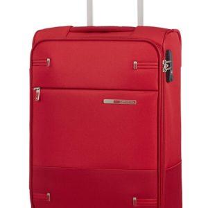 Samsonite Kabinový kufr Base Boost Spinner 55/20 lenght 35cm - capri red stripes