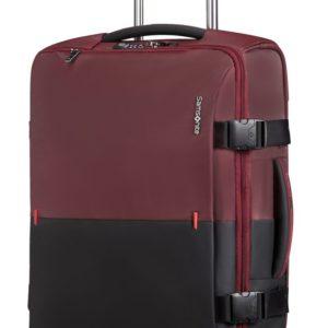 Samsonite Látková cestovní taška na kolečkách Rythum 47 l - tmavě červená